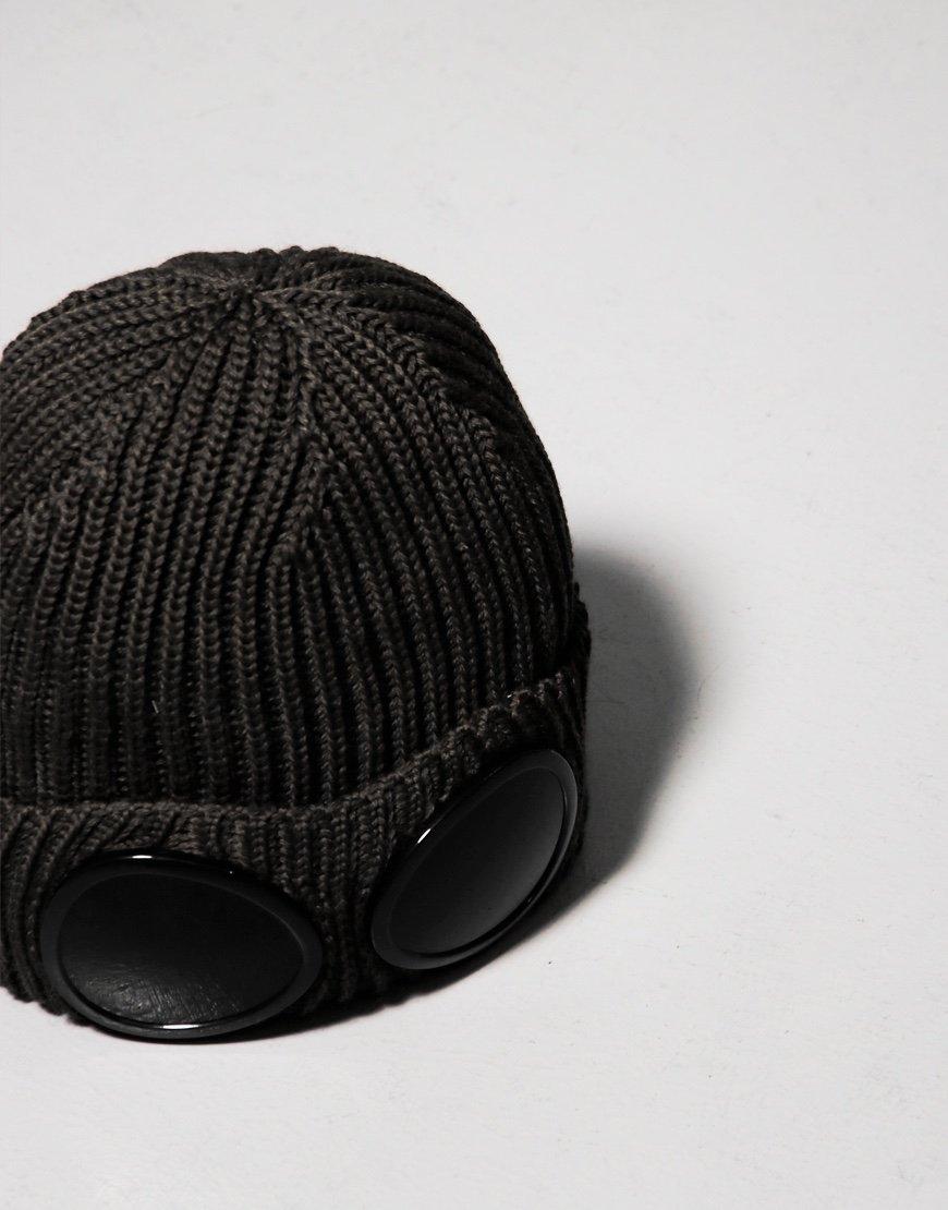 C.P. Company Goggle Hat Black