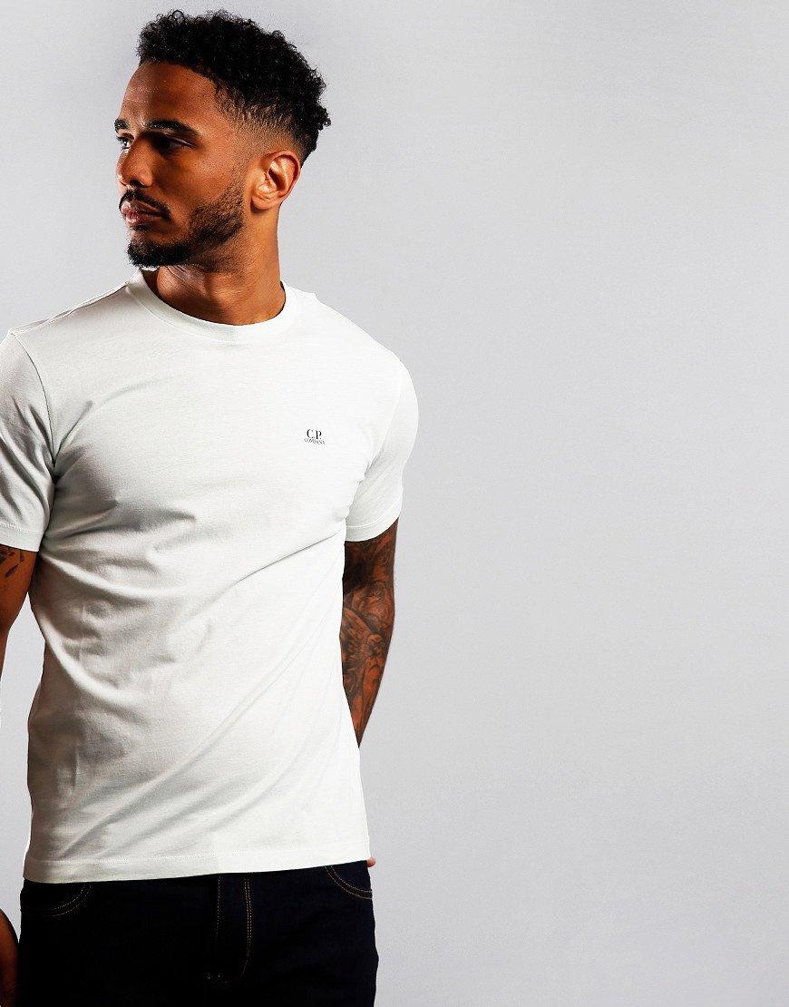 C.P. Company Jersey 30/1 Logo T-Shirt Frost
