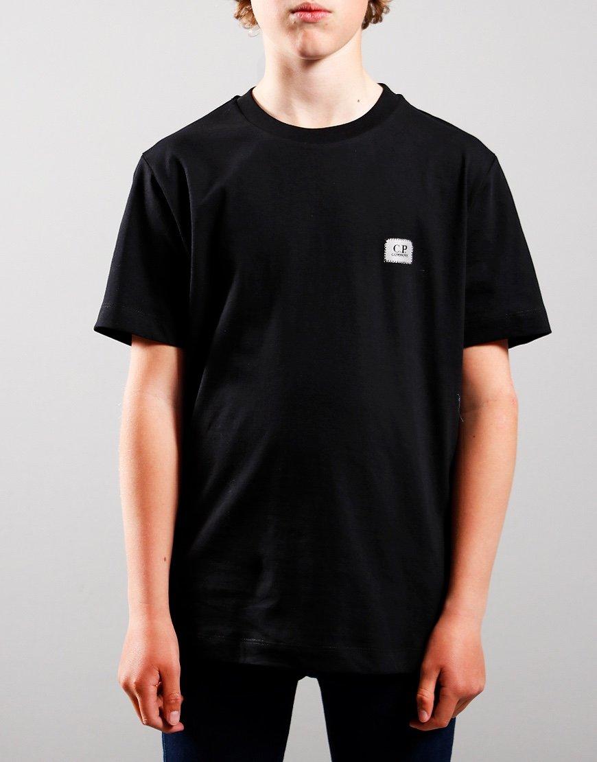 C.P. Company Kids Small Logo T-Shirt Black