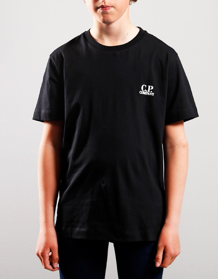 C.P. Company Kids Back Print T-Shirt Black