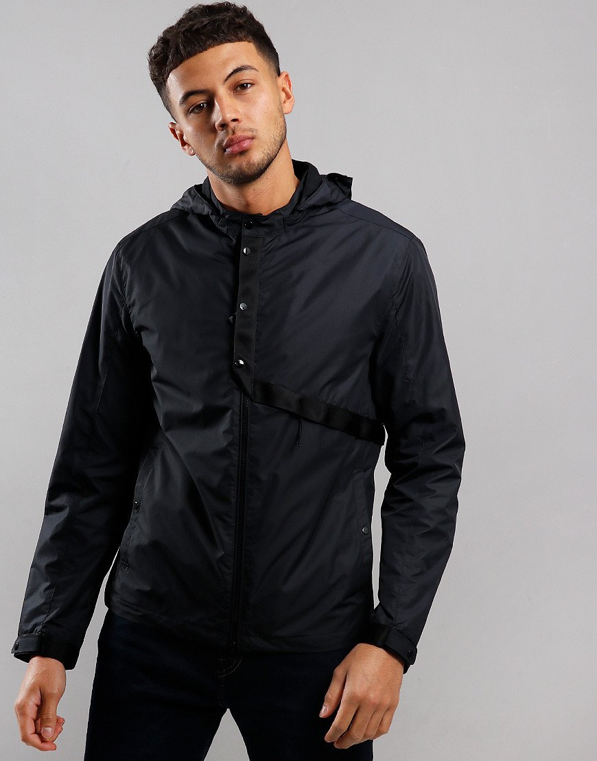 C.P. Company Micro-M Hooded Jacket Black