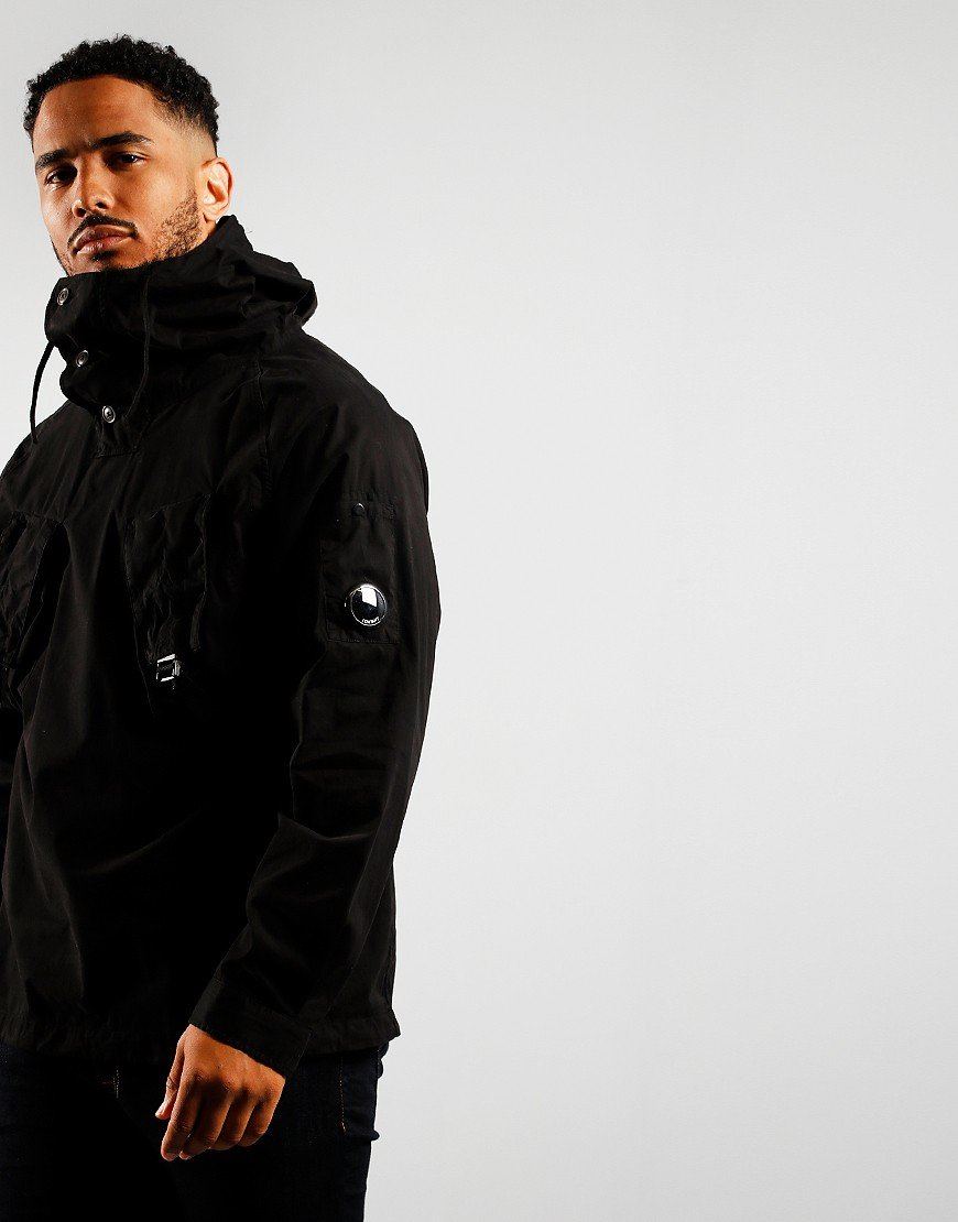 C.P. Company Hooded Overshirt Black