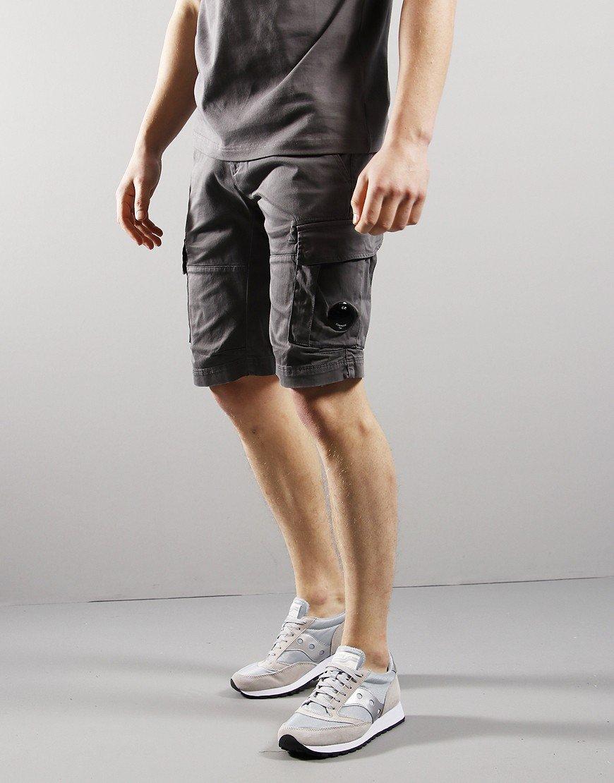 C.P. Company Cargo Burmuda Shorts Gargoyle Grey