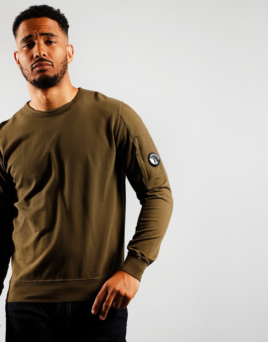 C.P. Company Crew Sweat Green