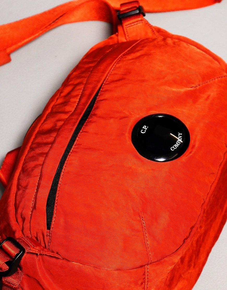C.P. Company Lens Cross Body Bag Burnt Ochre