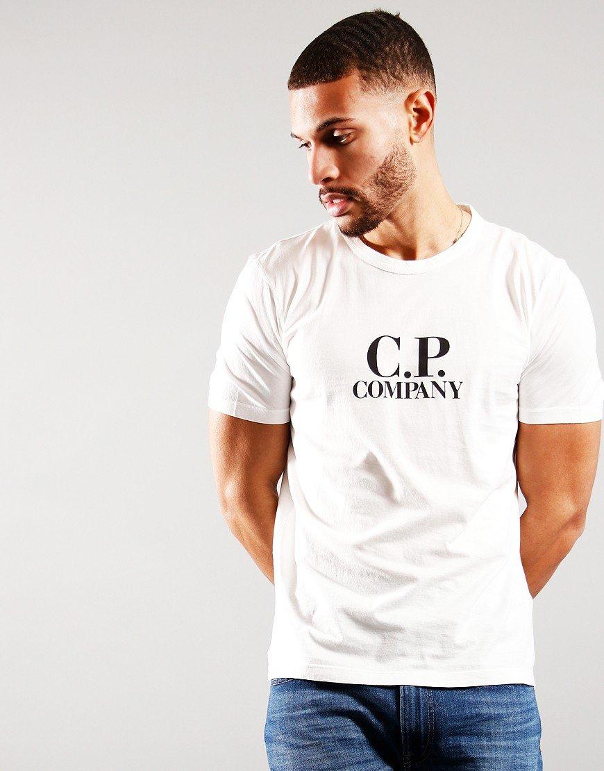 C.P Company Logo T-Shirt Gauze White