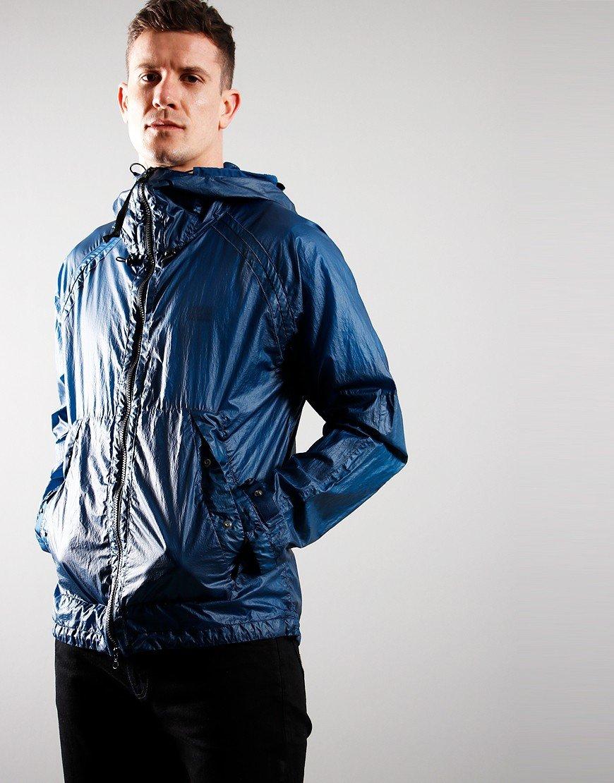 C.P. Company Nyber Garment Dyed Goggle Jacket Lyons Blue