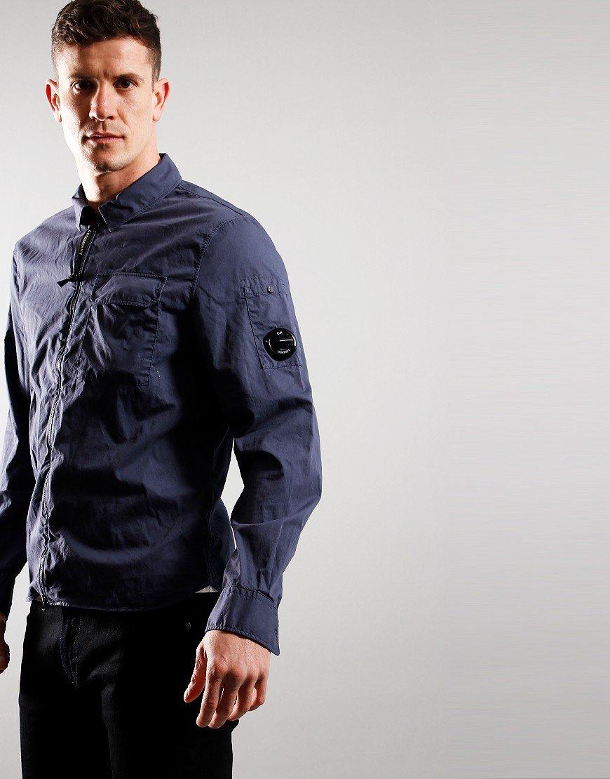C.P. Company Zip Overshirt Greystone