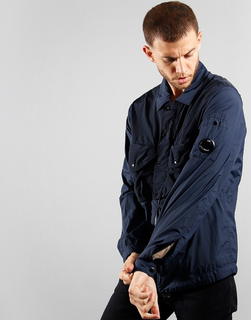 C.P. Company Overshirt Total Eclipse