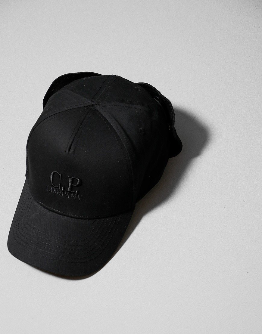 C.P. Company Kids Goggle Cap Black