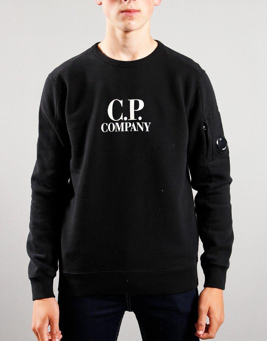 C.P. Company Kids Logo Print Sweat Black