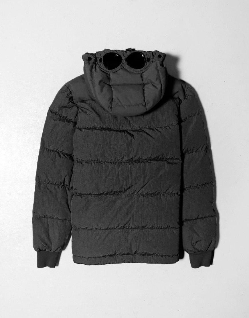 C.P. Company Kids Garment Dyed Puffer Jacket Black