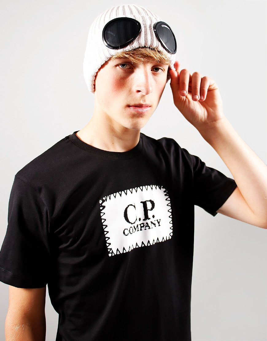 C.P. Company Kids Knit Beanie Sandshell