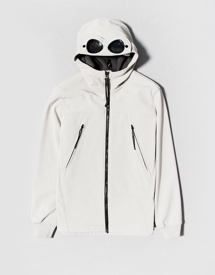 C.P. Company Kids Shell Goggle Hooded Jacket Quiet Grey