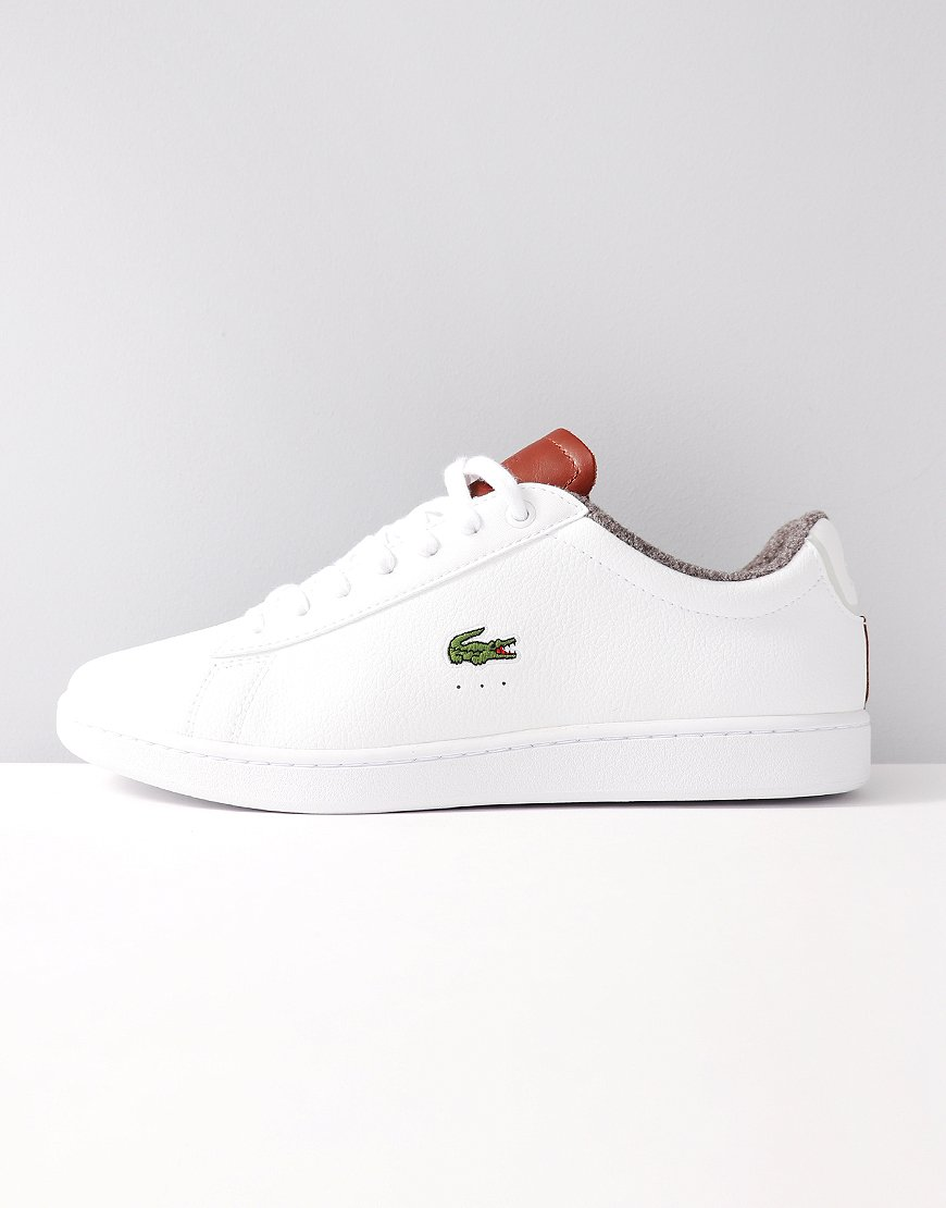 Lacoste Carnaby Evo Warm Leather Trainers White