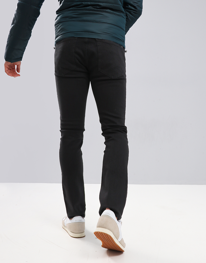 Pretty Green Castlefield Skinny Fit Jeans Black