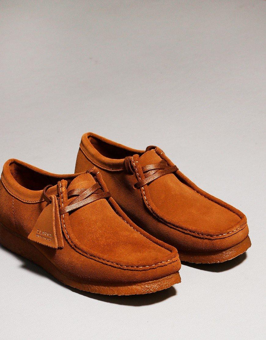 Clarks Originals Wallabee Shoe Cola