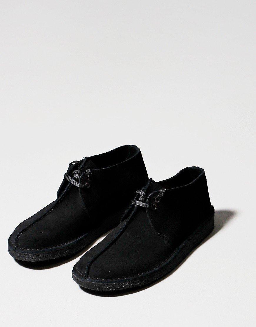 Clarks Originals Desert Trek Shoes Black