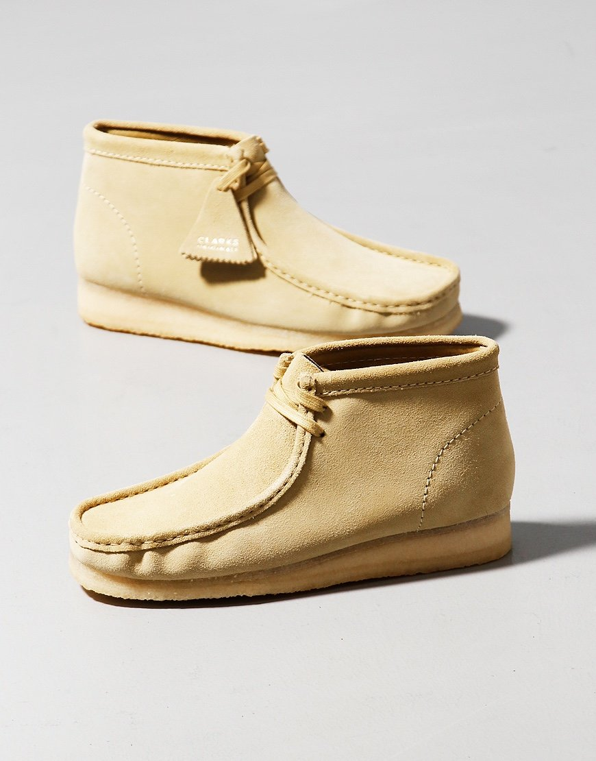 Clarks Originals Wallabee Boot Maple