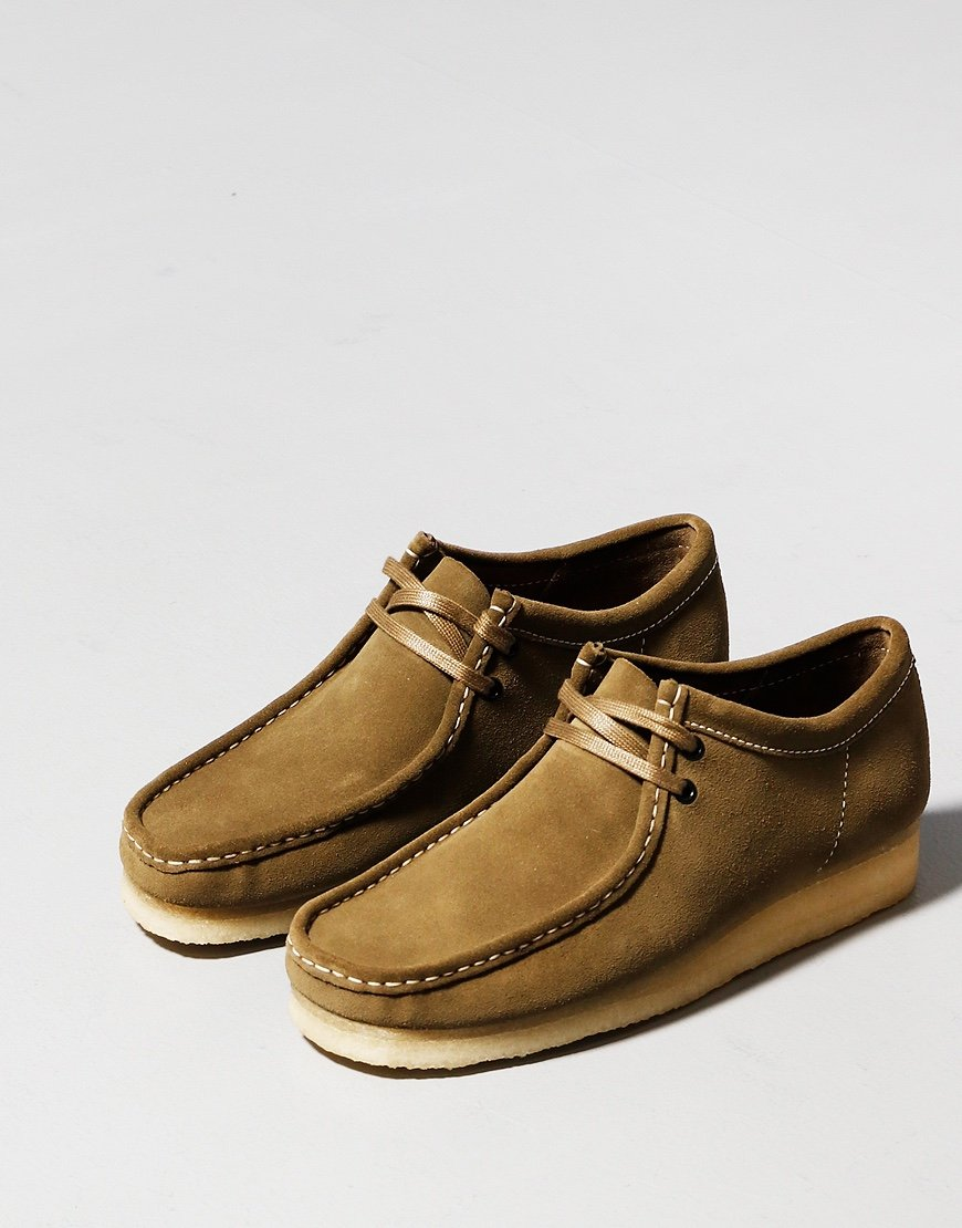 Clarks Originals Wallabee Shoe Khaki