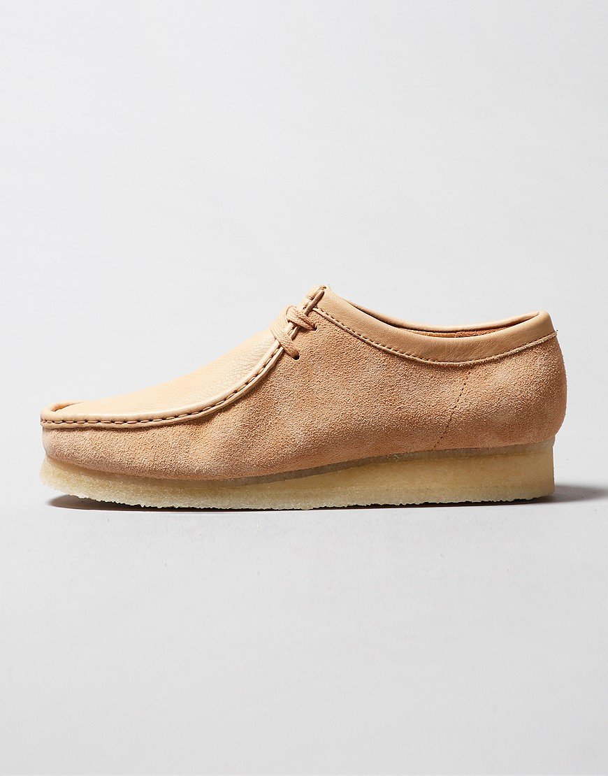 Clarks Originals Wallabee Shoe Light Tan