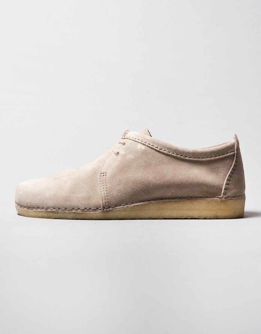 Clarks Originals Ashton Shoe Sand Suede