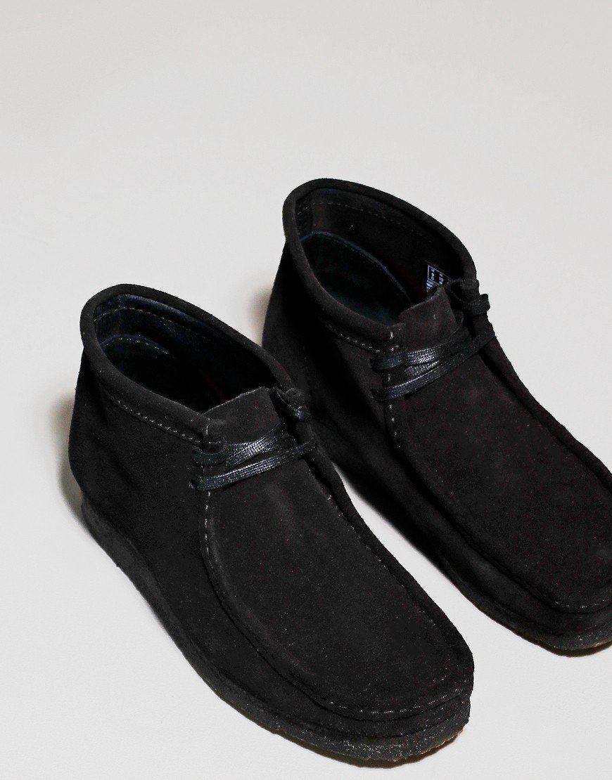 Clarks Originals Wallabee Boot Black