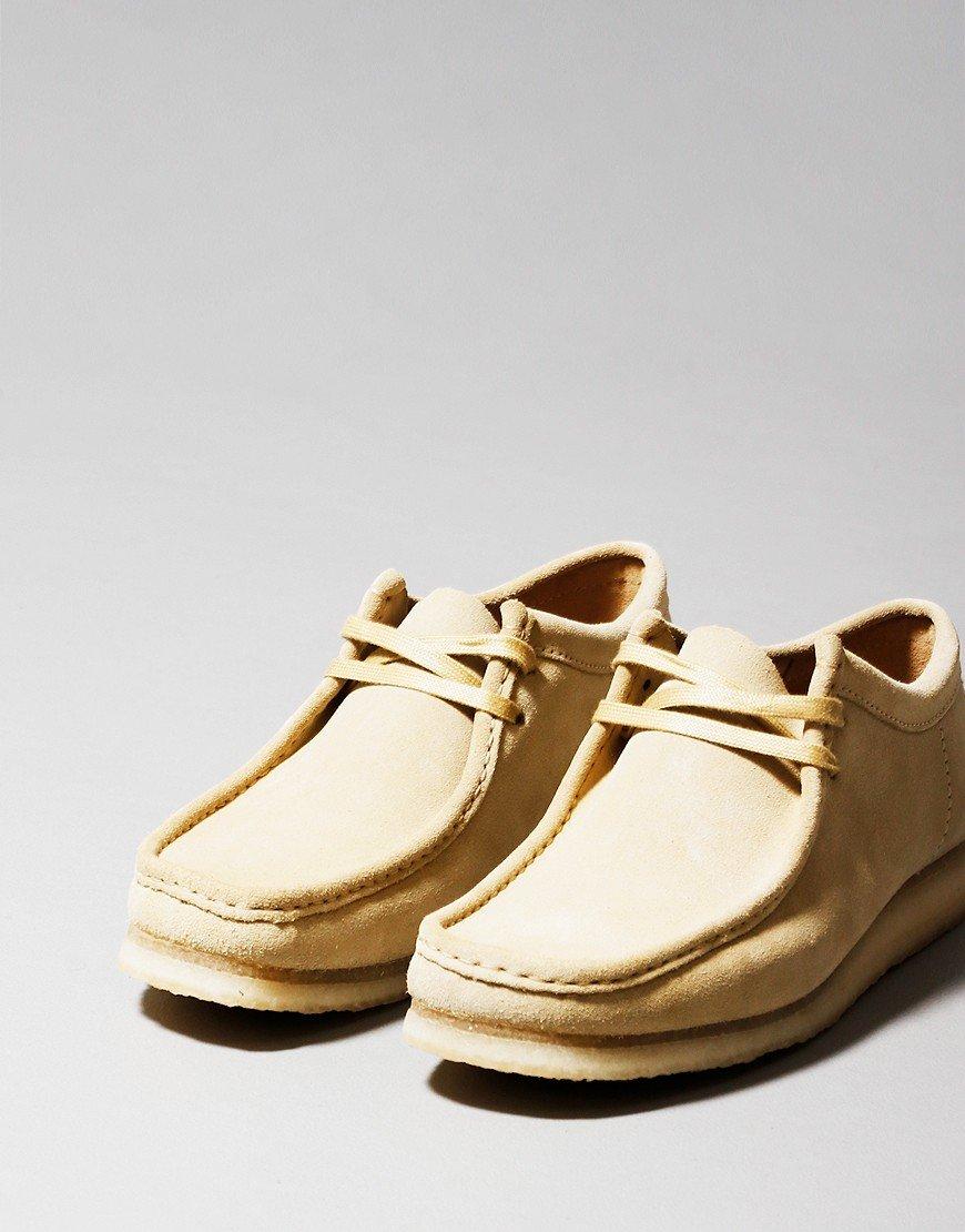 Clarks Originals Wallabee Shoe Maple Suede