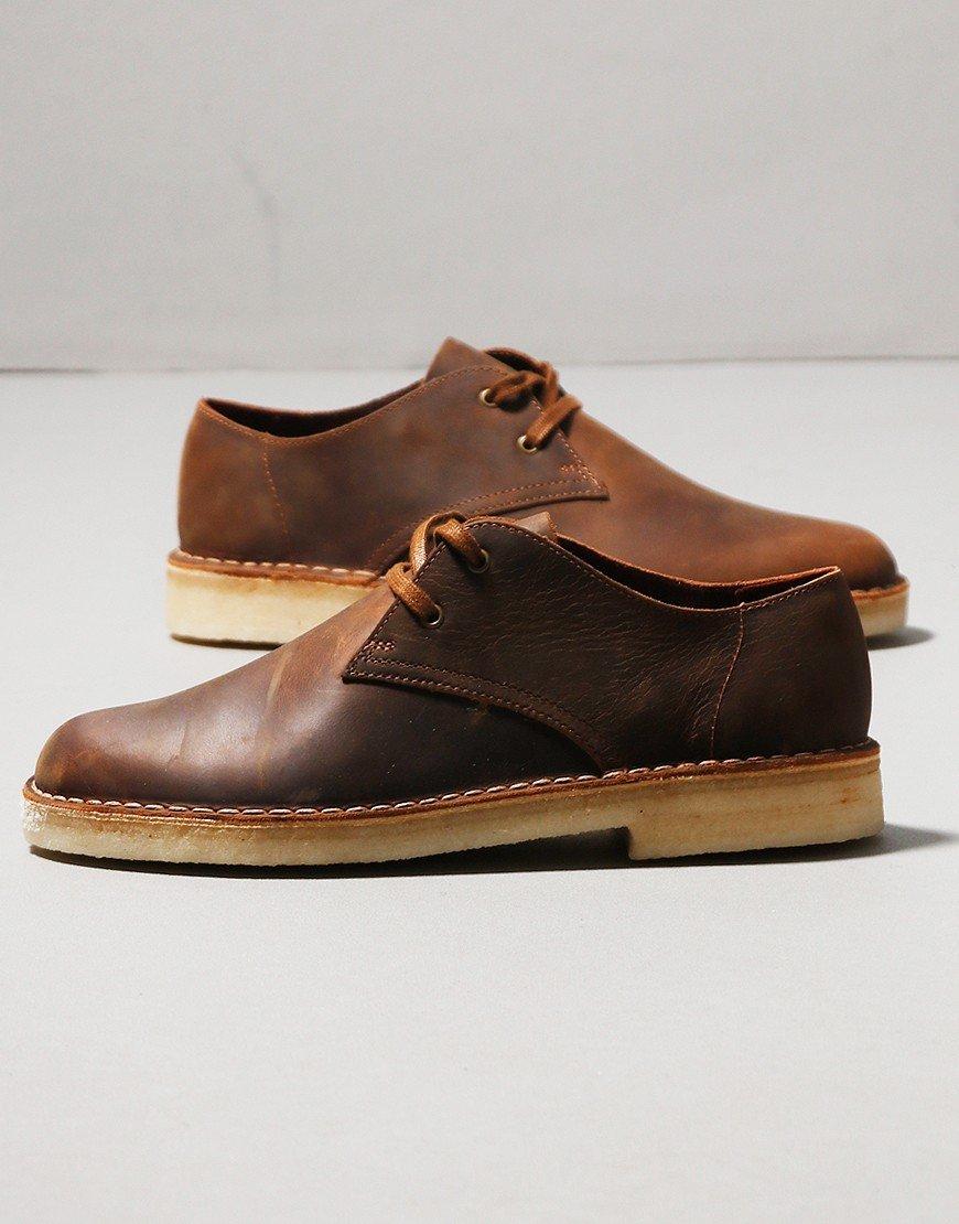 Clarks Desert Khan Shoe Beeswax