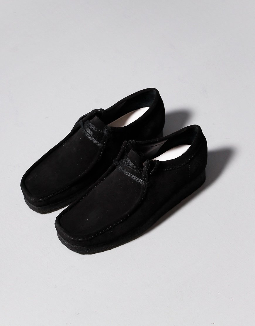 Clarks Originals Wallabee Shoe Black