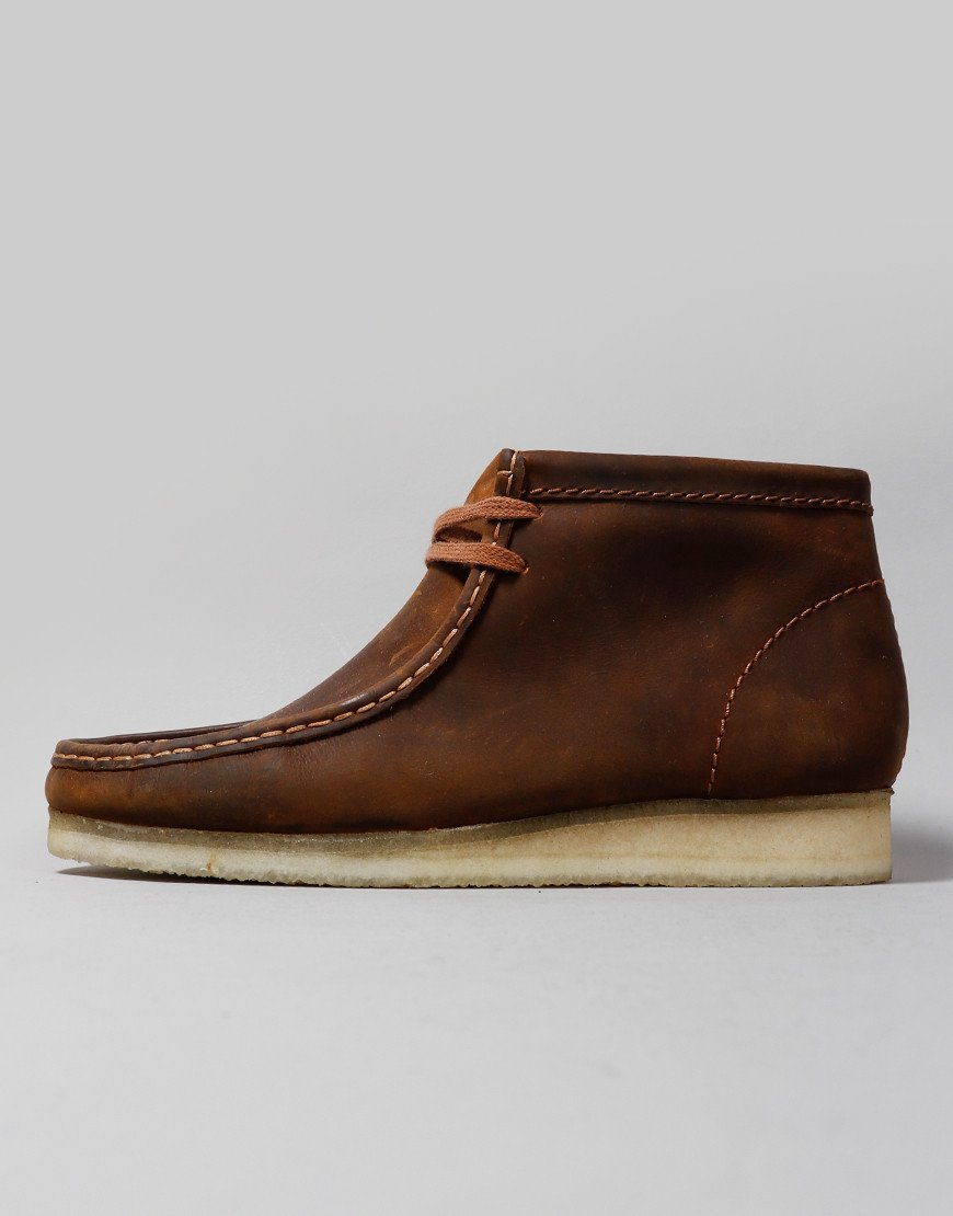 Clarks Originals Wallabee Boots Beeswax