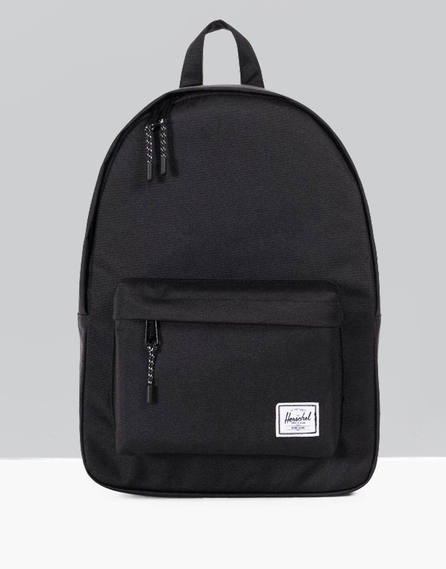 d79d6830d96 Herschel Classic Backpack Black - Terraces Menswear