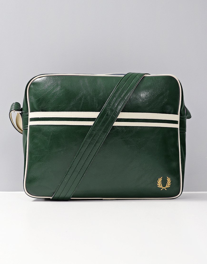 Fred Perry Shoulder Bag Dark Forest
