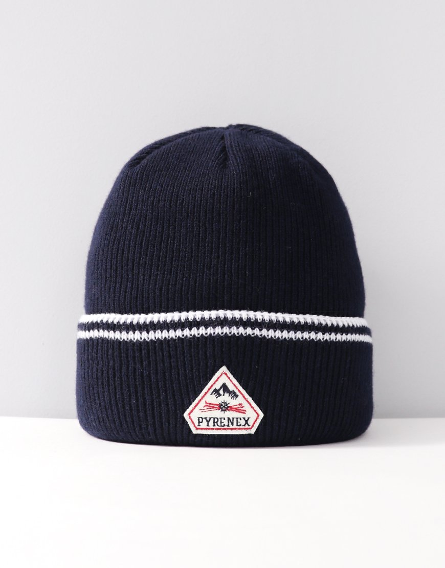 Pyrenex Colin Knitted Hat Amiral
