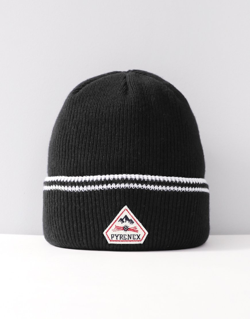 Pyrenex Colin Knitted Hat Black