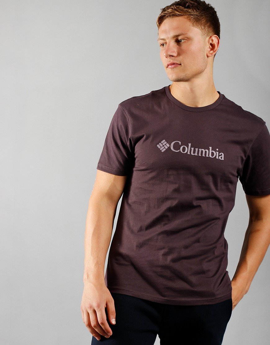 Columbia CSC Logo T-Shirt Dark Puprle