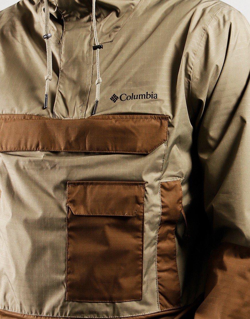 Columbia Buckhollow Anorak Jacket Stone Green