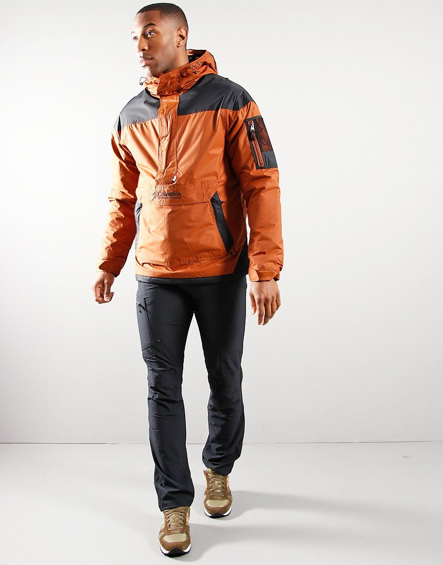 Columbia Challenger Pull Over Jacket Amber