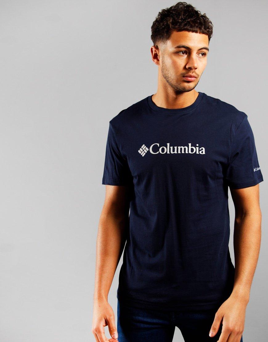 Columbia CSC Logo T-Shirt Collegiate Navy