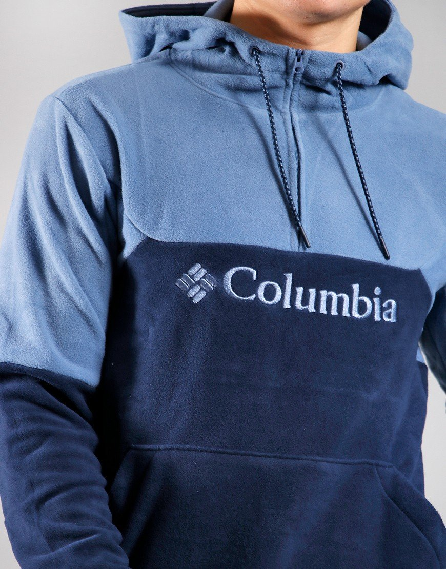 Columbia Lodge II Fleece Hoodie Collegiate Navy/Bluestone