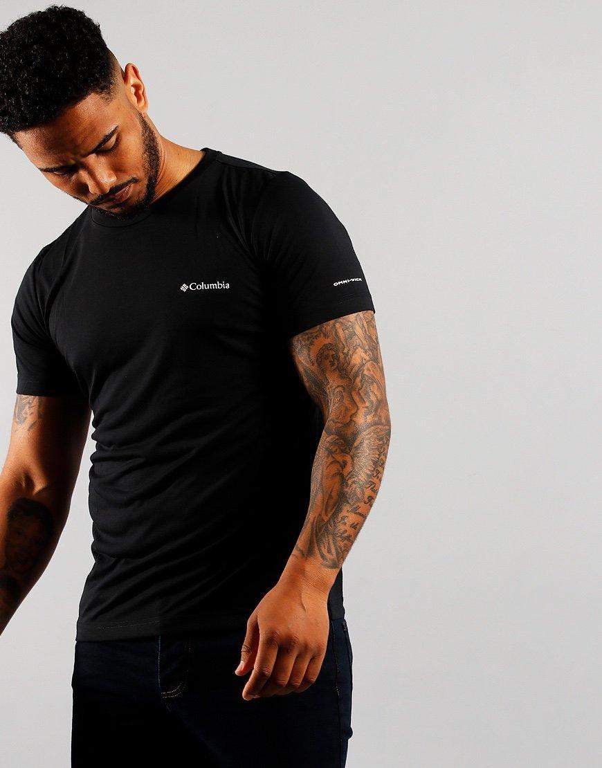 Columbia Maxtrail T-Shirt Black