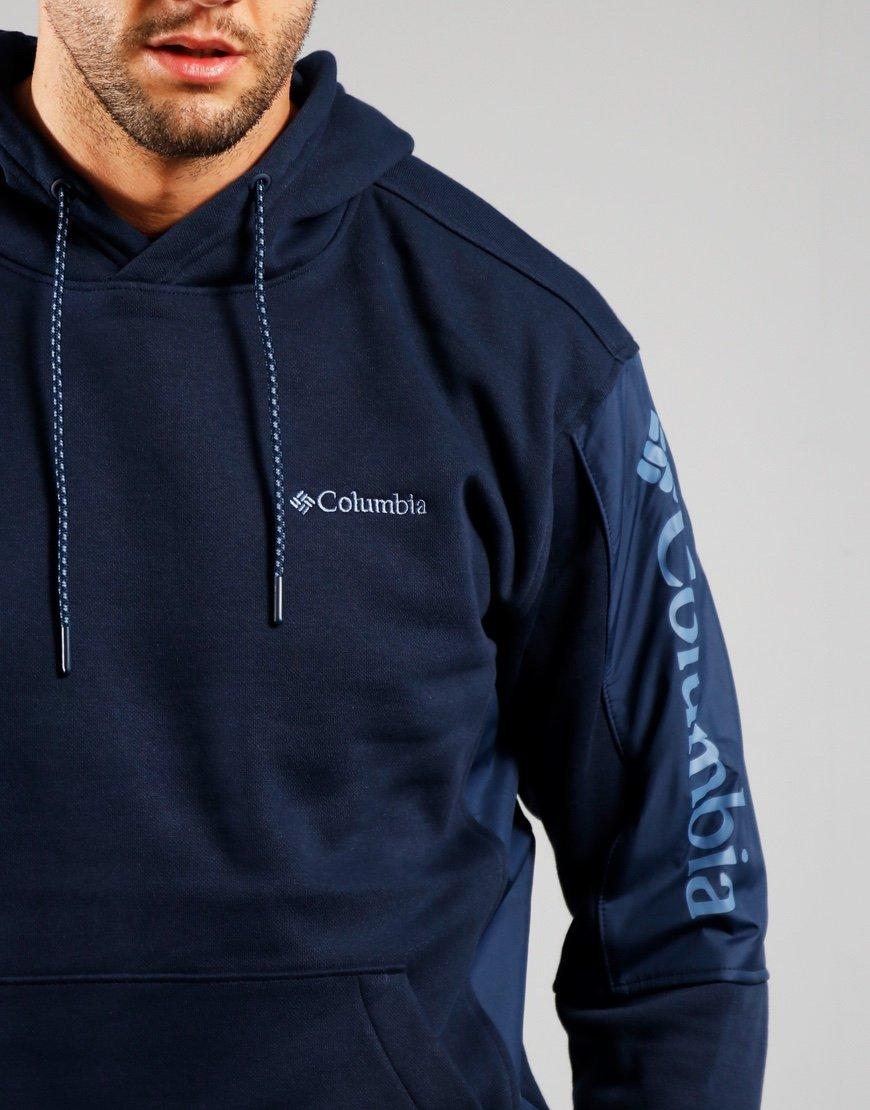 Columbia Minam River Hooded Sweatshirt Navy
