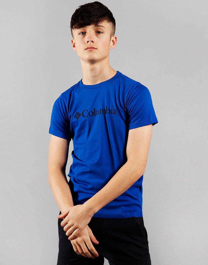 Columbia Kids CSC Logo T-Shirt Azul
