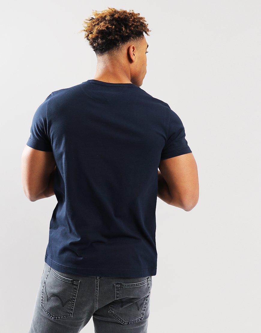 6c5a1e4d9e581 Tommy Hilfiger Corp Flag T-shirt Sky Captain - Terraces Menswear