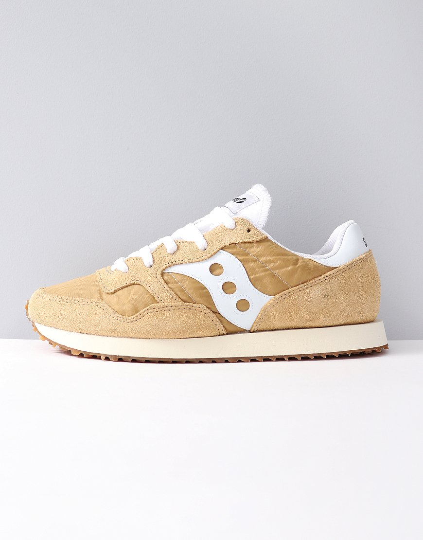 Saucony DXN Vintage Sneakers Tan/White