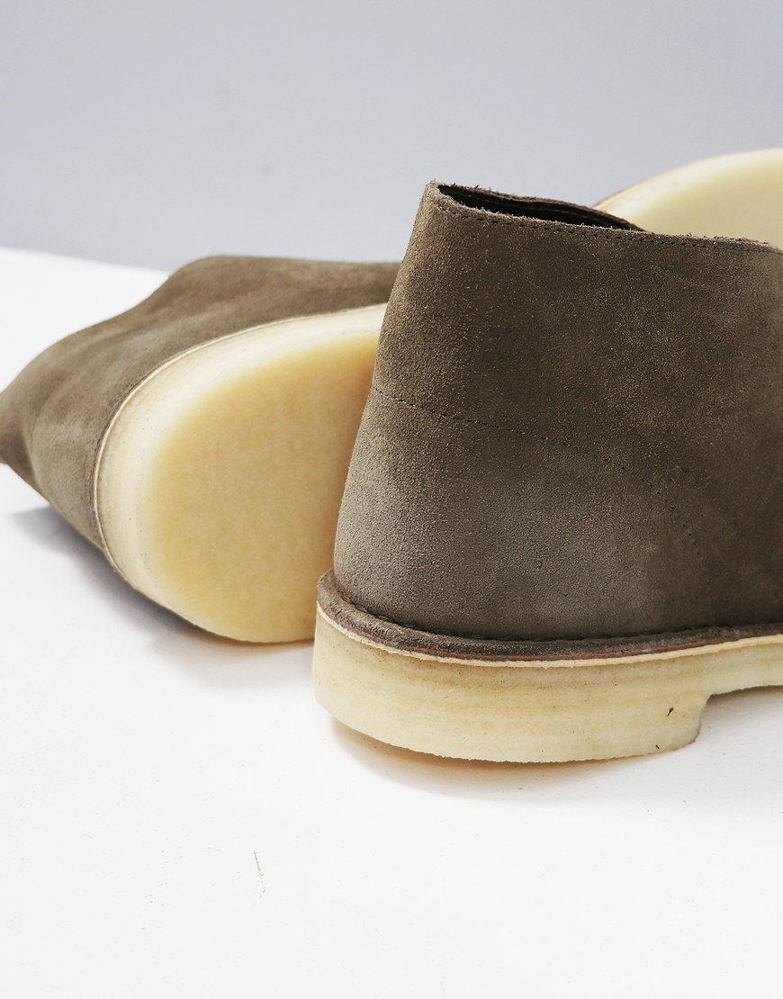92b331b7 Clarks Originals Desert Boot Olive Suede - Terraces Menswear