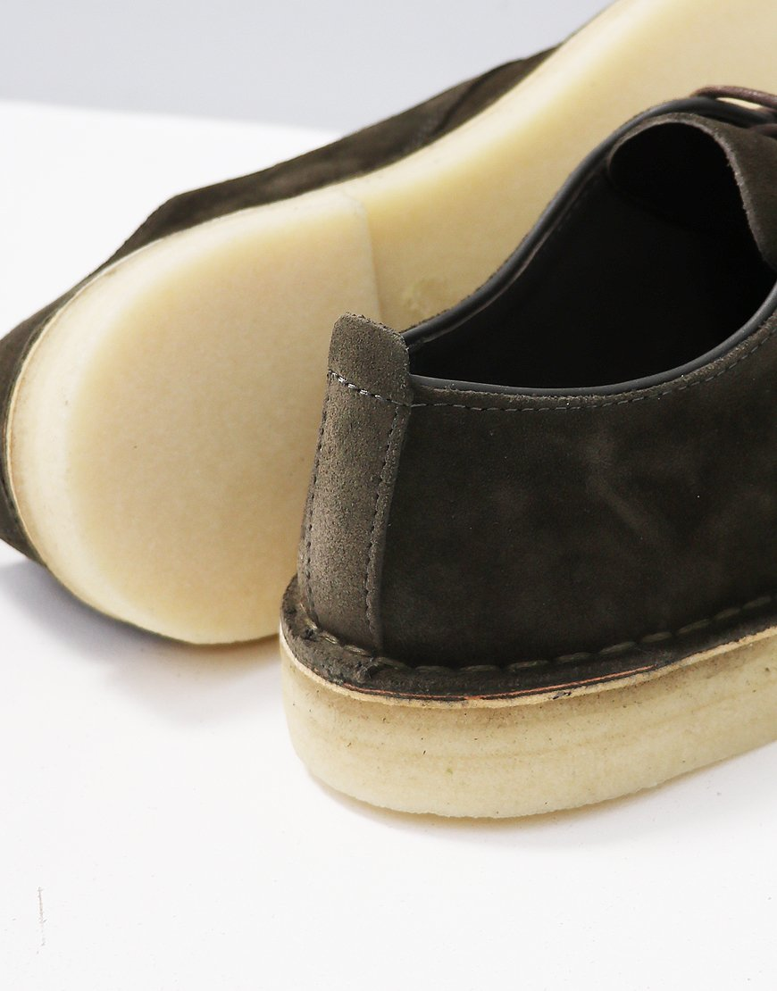 e02bcd2d Clarks Originals Desert London Shoe Dark Olive - Terraces Menswear