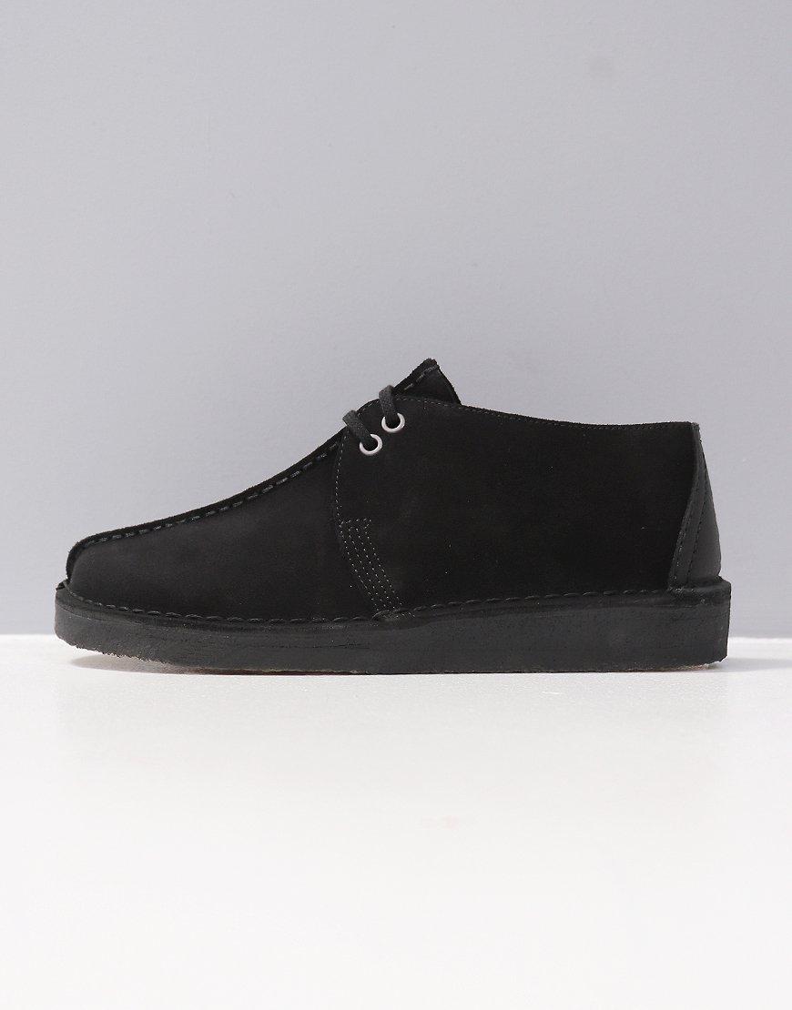 Clarks Originals Desert Trek Boots Black