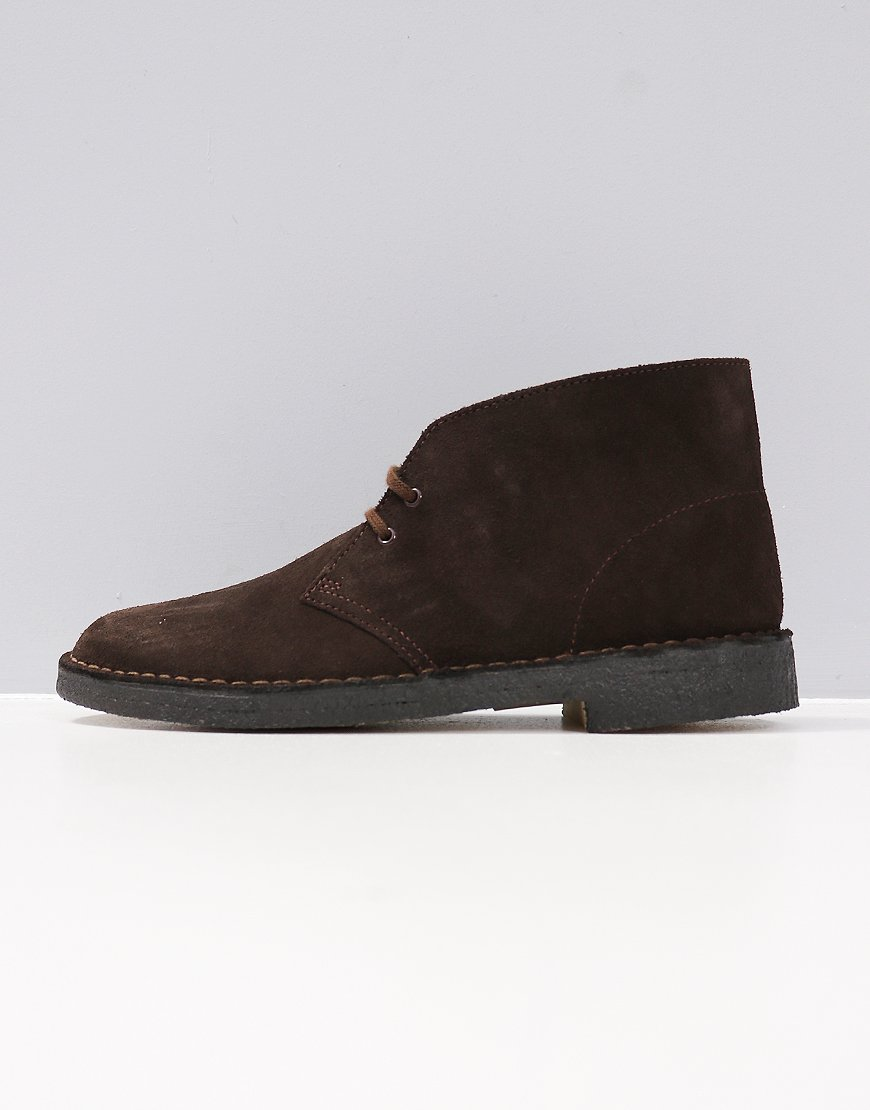 Clarks Originals Desert Boot Brown Suede