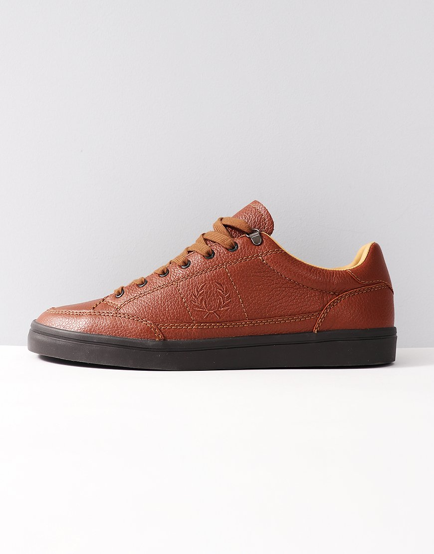 Fred Perry Deuce Premium Leather Tan